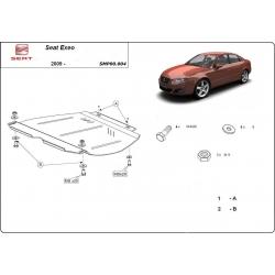 Seat Exeo Getriebeschutz 1.9, 2.0TDi - Stahl