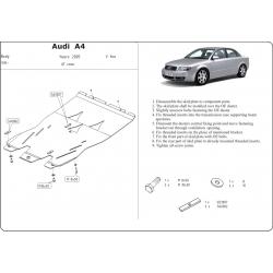 Audi A4 Motor und Getriebeschutz außer Quattro - Stahl