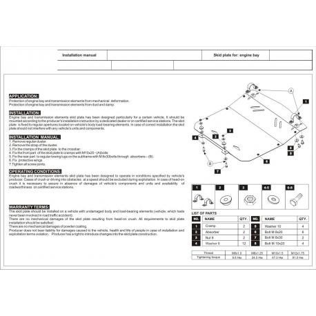 Audi A8 Unterfahrschutz 4.0 TDI, 4.2 - Stahl