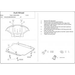 Audi Allroad Unterfahrschutz - Alluminium