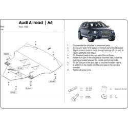 Audi Allroad Motor und Getriebeschutz - Alluminium