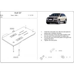 Audi Q7 Getriebeschutz 3.0 TDI - Stahl