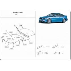 BMW E46 Unterfahrschutz 2.1, 2.5 - Stahl