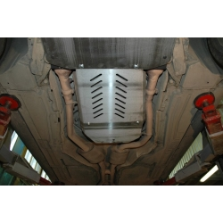 BMW X6 (Automaticgetriebe schutz) 3.0 TDI - Alluminium