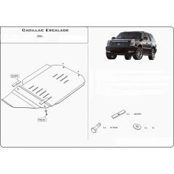 Cadillac Escalade III Getriebeschutz 6.2 V8 - Alluminium