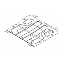 Chevrolet Cruze Motor und Getriebeschutz 1.6 - Stahl