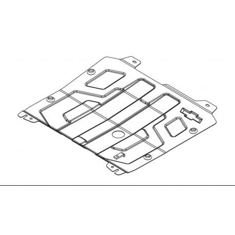 Chevrolet Orlando Motor und Getriebeschutz 1.8 - Stahl