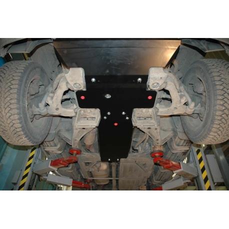 Chevrolet Trail Blazer Motor und Getriebeschutz 4.2 - Stahl