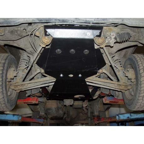 Daewoo Damas Motor und Getriebeschutz 0.8 - Stahl