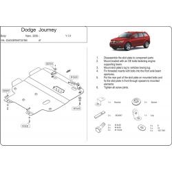 Dodge Journey Motor und Getriebeschutz 2.0TD, 2.4 - Stahl