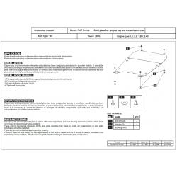 Fiat Croma Motor und Getriebeschutz - Stahl