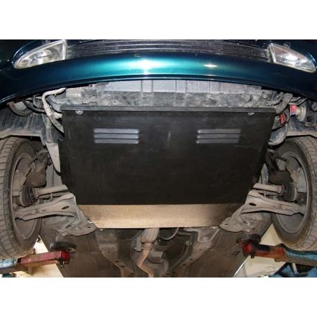 Ford Fiesta IV ( /Courier) Motor und Getriebeschutz 1.0, 1.3, 1.4, 1.6, 1.8D - Stahl