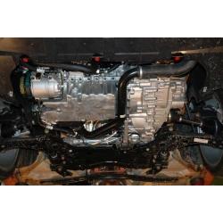 Ford Focus II ST Motor und Getriebeschutz 2.5 turbo - Stahl
