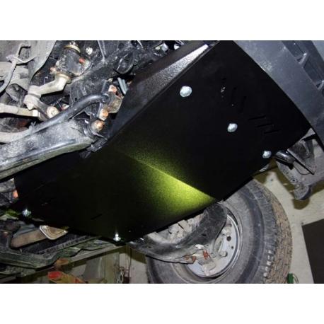 Ford Ranger Unterfahrschutz 2.3, 2.5 D, 2.5 TD (4x4) - Alluminium