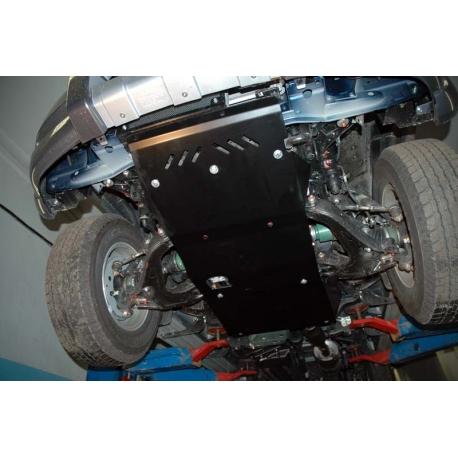 Ford Ranger Getriebeschutz 2.5 TD, 3.0 TD - Alluminium