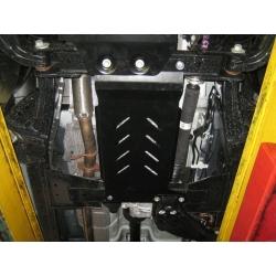 Ford Ranger Getriebeschutz 2.2TD, 3.2TD - Alluminium