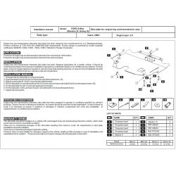 Ford S-Max Motor und Getriebeschutz 1.6, 1.8, 2.0, 2.0TD, 2.3 - Stahl
