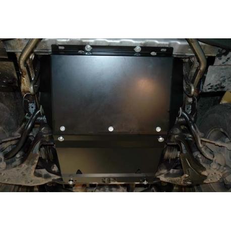 Hyundai H-1 / Starex / Satellite Motor und Getriebeschutz 2.4, 2.4 (4WD), 2.5TD, 2.5TD (4WD) - Stahl