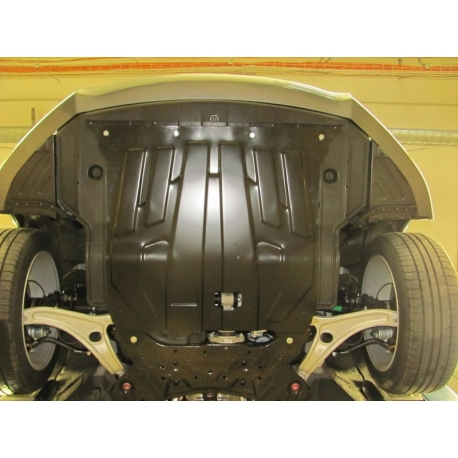 Hyundai i40 Motor und Getriebeschutz - Stahl