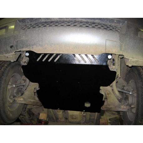 Hyundai Terracan Unterfahrschutz - Alluminium