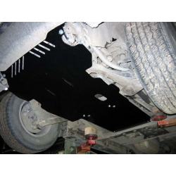 Hyundai Terracan Getriebeschutz - Alluminium