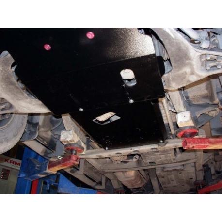 Hyundai Terracan  Getriebeschutz 3.5, 3.5i V6 (4WD) - Alluminium