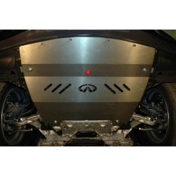 Infiniti G 37 S / Q 50 / Q 60 Unterfahrschutz 2.5, 3.7 - Alluminium