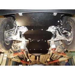 Infiniti QX 56 Unterfahrschutz 5.6 - Alluminium