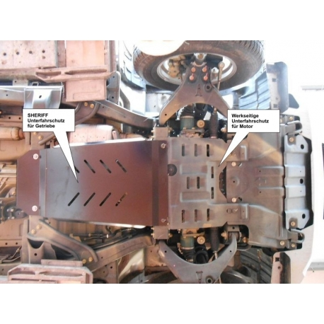 Isuzu D - Max Getriebeschutz 2.5CRDI - Alluminium