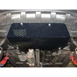 KIA Sportage II Motor und Getriebeschutz - Alluminium