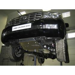 Lexus LX 570 Unterfahrschutz all - Alluminium