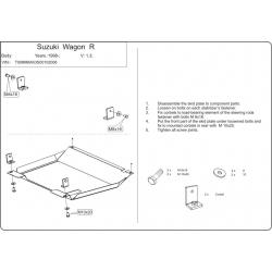Suzuki Wagon R + Motor und Getriebeschutz 1.0, 1.3 - Stahl