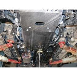 Toyota Land Cruiser 120 / Prado Getriebeschutz 4.0 - Alluminium
