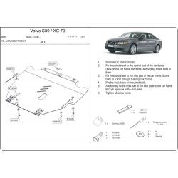 Volvo S80 Motor und Getriebeschutz 2.5T - Stahl
