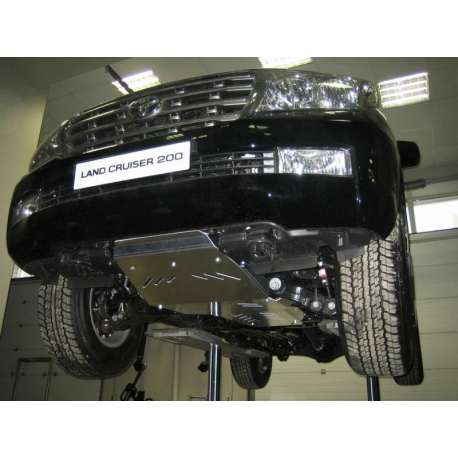 Toyota Land Cruiser 200 Unterfahrschutz 4.7, 4.5TD - Alluminium