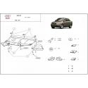 Audi A4 (kryt pod motor) 2,6 V6, 2.8B, 2.5D