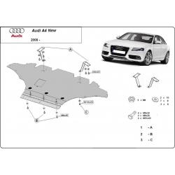 Audi A4 New Unterfahrschutz 1.8, 2.0 TFSI quattro, 2.0TDi - Stahl