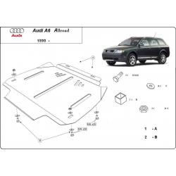 Audi Allroad Getriebeschutz - Stahl