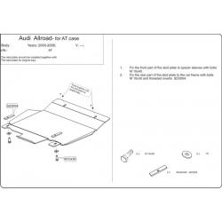 Audi Allroad (Automaticgetriebe schutz) - Stahl