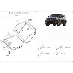 Cadillac Escalade III Unterfahrschutz 6.2 V8 - Alluminium