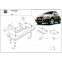 Fiat Sedici (Schutz für Differential) 1.5,1.6 (4x4), 1.9 TD - Stahl