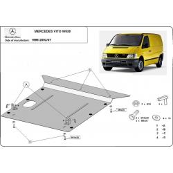 Mercedes Vito W638 Unterfahrschutz - Stahl