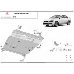 Mitsubishi Lancer (Gehäusey Unterfahrschutz) - Stahl