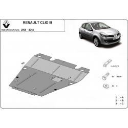 Renault Clio III (kryt pod motor)