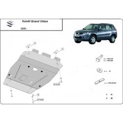 Suzuki Grand Vitara Unterfahrschutz 1.6, 1.9, 2.0, 2.4, 3.2, V6 - Stahl