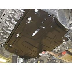 Škoda Fabia II /RS, Scout, Combi Motor und Getriebeschutz 1.2, 1.4, 1.6 - Stahl