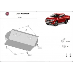 Fiat Fullback Unterfahrschutz - Stahl