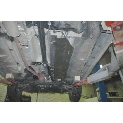 Dacia Duster (Abdeckung der Kraftstoffleitung) 4x4 Model - Stahl