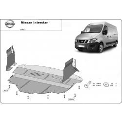 Nissan Interstar Unterfahrschutz - Stahl