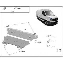 VW Crafter Unterfahrschutz - Stahl